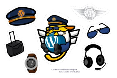 Commercial Pilot StickerSheet