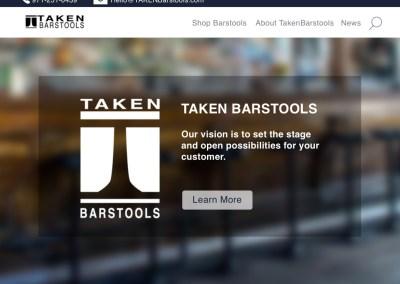 TakenBarstools: Website