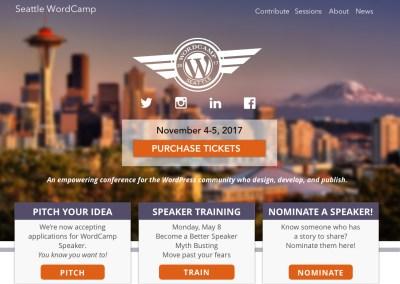 Seattle WordCamp: Website Design & Development