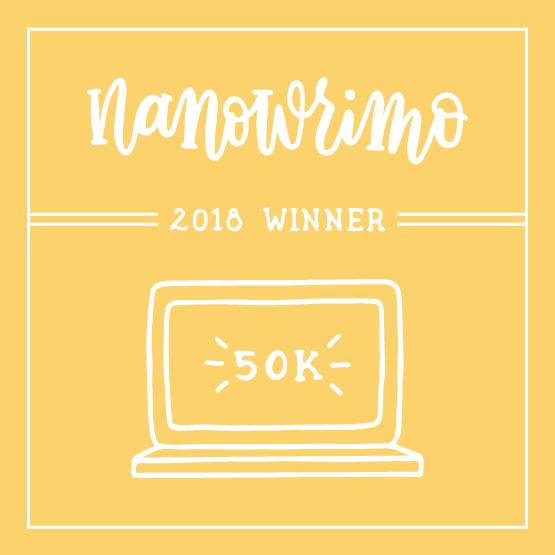 NaNoWriMo Winner Badge
