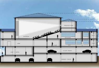 Multiplex building sections