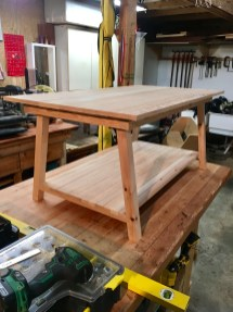 finishing process for seattle table build