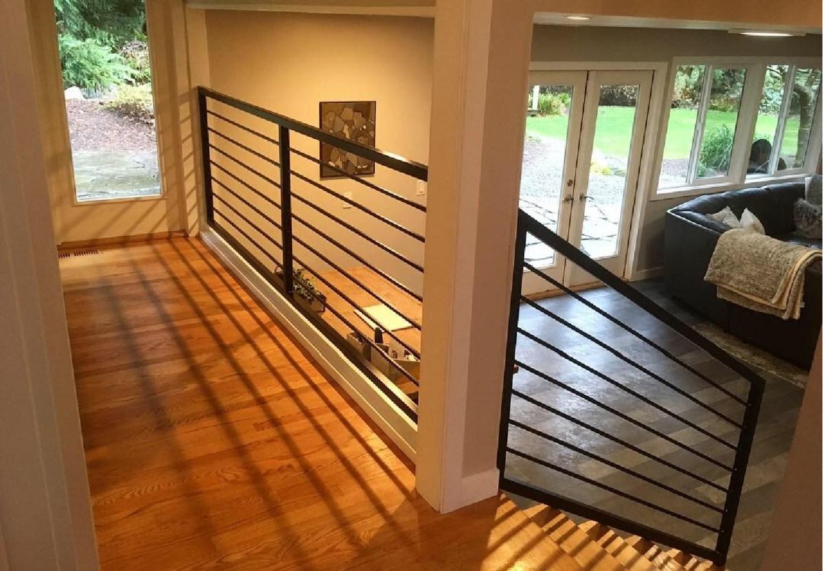 custom metal railings for home