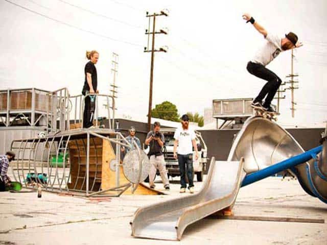Skate Ramp Building Tips from Jeff King Host of Built To Shred
