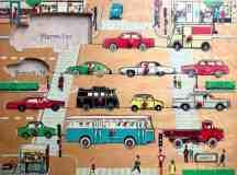 Make Shape Puzzle Cutouts Into Wall Magnets