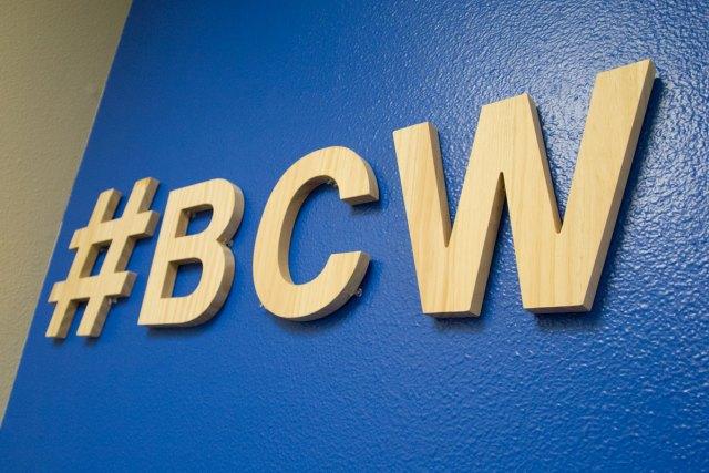BoiseCodeWorks wall hashtag
