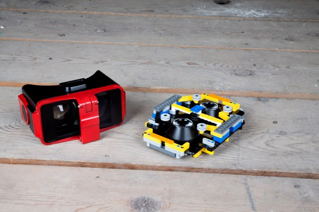 IonVR's near production prototype and their first lego prototype