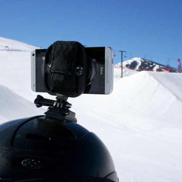 Action Mount helmet camera mount