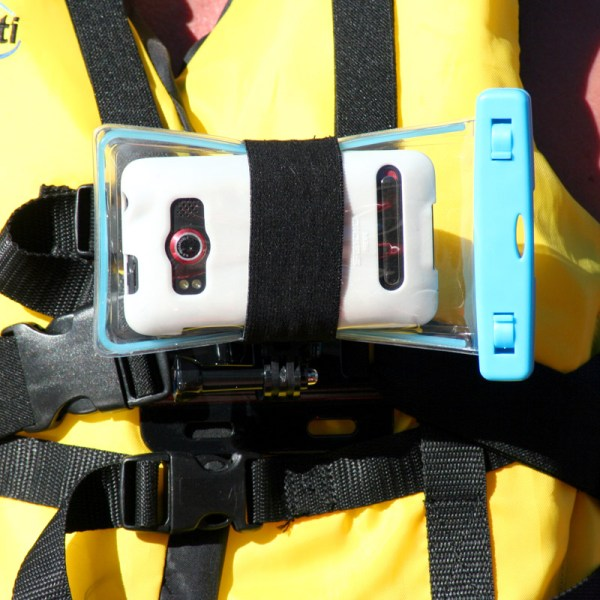 Action Mount underwater pouch mount