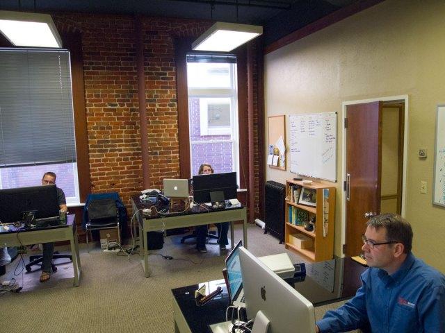 IdeaRoom's downtown Boise office