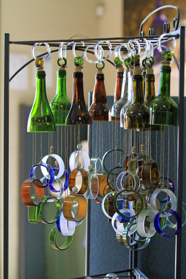 Usful Glassworks windchime