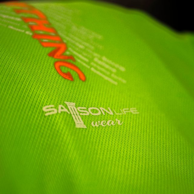 Samson Life athletic wear closeup