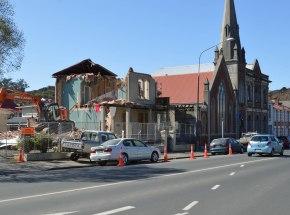 Mathews House (former Cramond family home), Dundas Street, demolished 2015