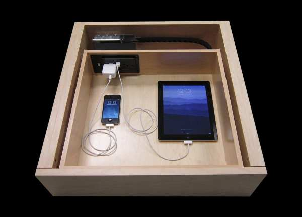 Built Prefab Modular Homes Charging Drawer Photo