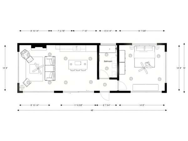 Built Prefab Modular Homes Rendering