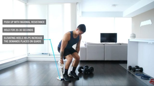 Build more muscle at home with isometric holds