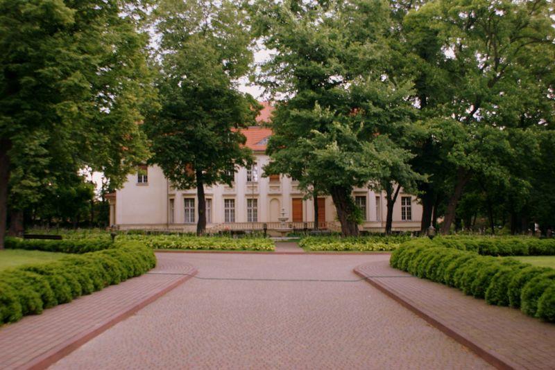 Pałac Biedermannów - elewacja frontowa budynku