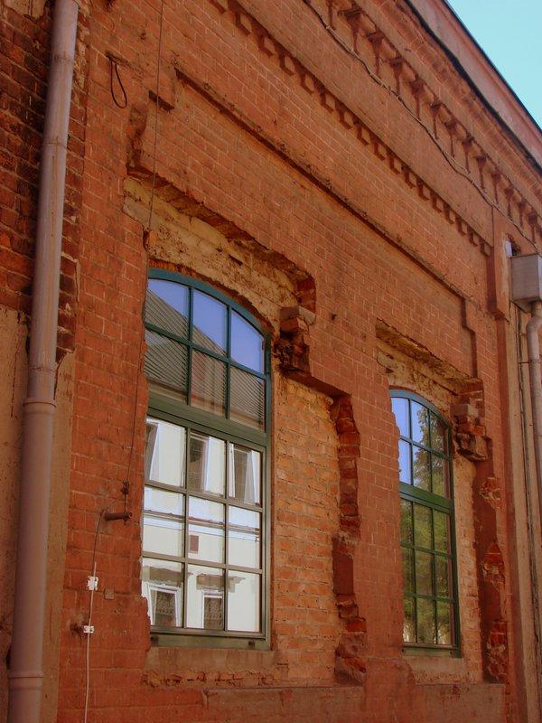 Elewacja budynków Art Incubatora