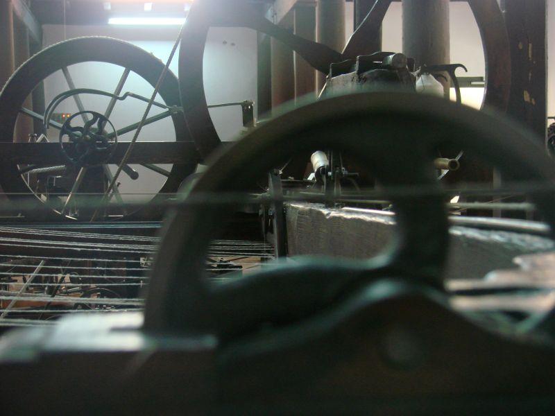 Maszyny w Muzeum Włókiennctwa