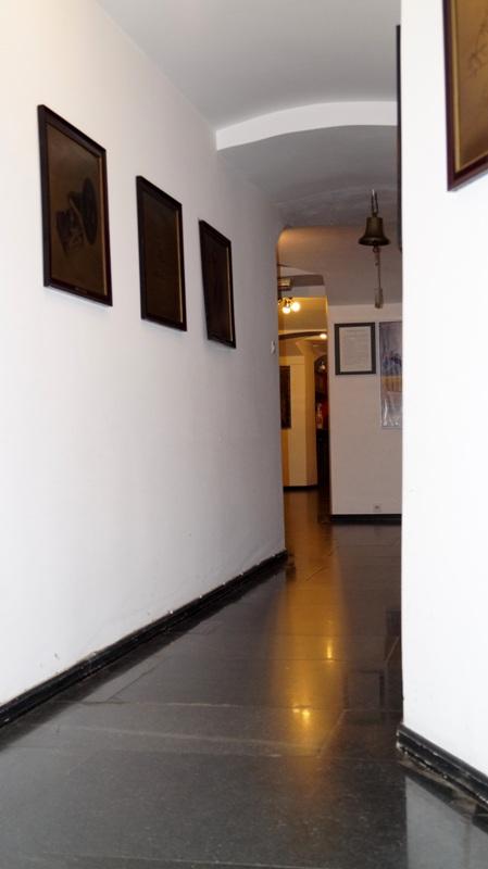 Wystawa w Muzeum Kinematografii - korytarz piwniczny