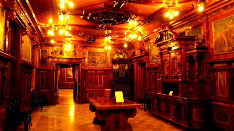 Pałac Scheiblera - wnętrza