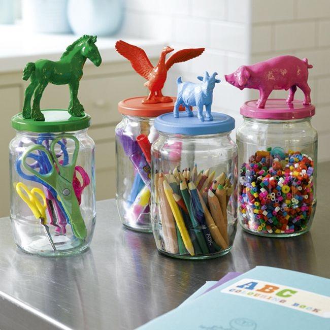 15 ideas para organizar las cosas de los ni os - Ideas almacenaje juguetes ...