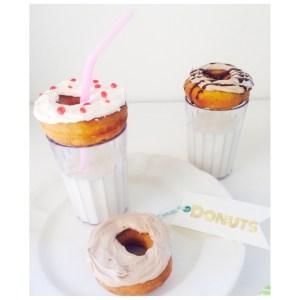 Para celebrar: Divertidas mini donuts