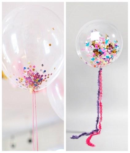 cómo decorar los globos