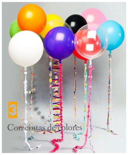 decorar globos