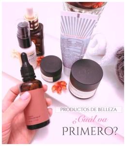 Beauty day: ¿En qué orden se deben aplicar los productos de belleza?