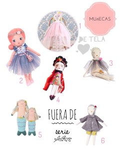 Shopping Guide: Muñecas de Tela