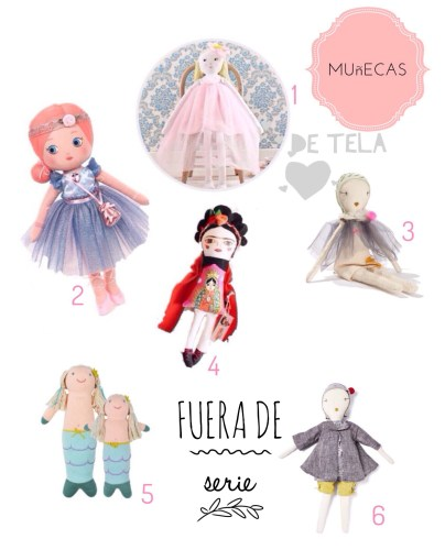 las mejores muñecas de tela