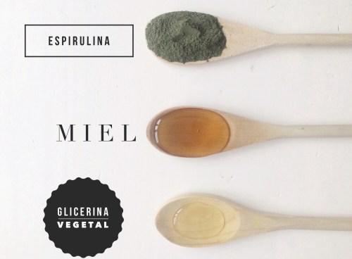Mascarilla de Espirulina