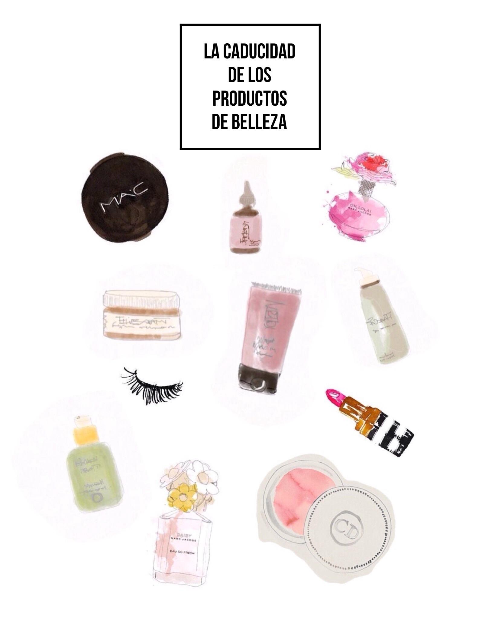 Caducidad de los productos de belleza