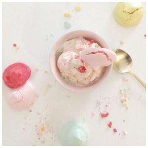 Helado casero de vainilla (no necesitas una máquina para hacer helados)