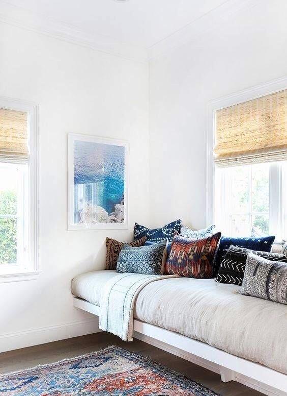 decoración camas de día