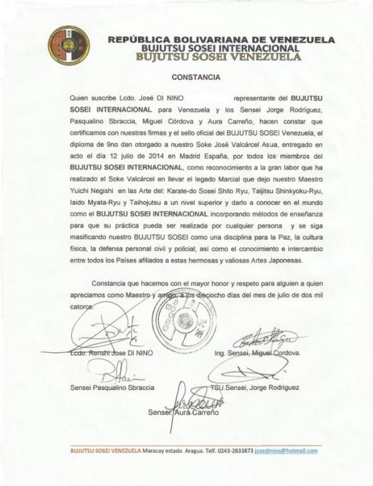 Carta Venezuela
