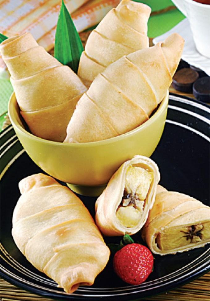 Kue Tradisional Indonesia. Pisang Molen.