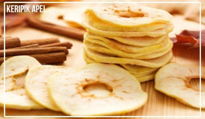 Jajanan Tradisional Jawa Timur. Keripik Apel.