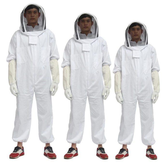 Budidaya Lebah Madu. Perlengkapan Baju Pelindung
