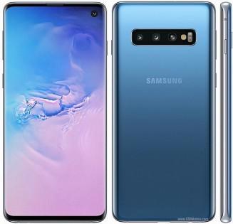 Galaxy S10 (left) Galaxy A90 (right)