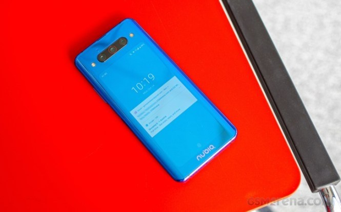 EMBARGO The nubia Z20 launches in Twilight Blue, gets Black Friday discount