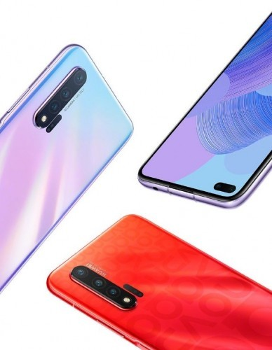 Chinese retailer lists Huawei nova 6 ahead of launch revealing color and storage options