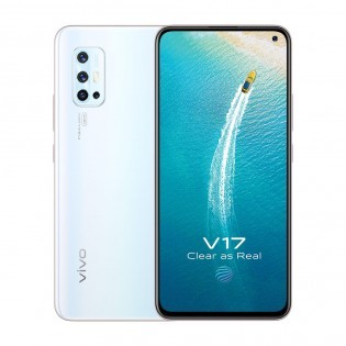 vivo V17 in Glacier Ice White