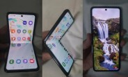 Samsung's clamshell foldable spotted in live images