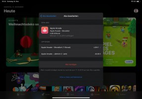 Changing from a monthly to a yearly subscription for Apple Arcade