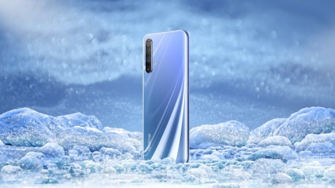Realme X50 5G design revealed, live image confirms side-mounted fingerprint scanner