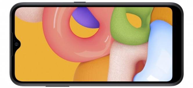 Samsung Galaxy A01 quietly unveiled with 5.7'' HD screen, plenty of memory