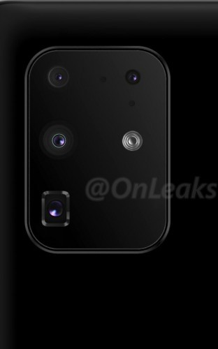 New S11+ camera placement vs previos render