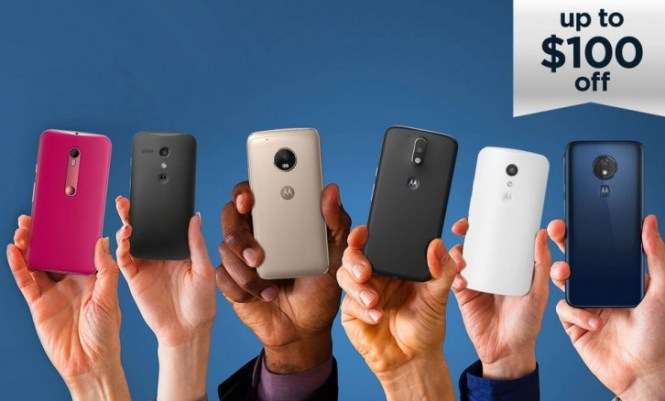 Motorola celebrates Moto G's 100 million milestone with BOGO deals and discounts